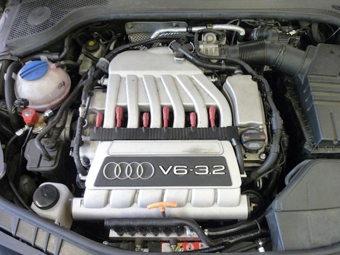 AudiTT32_LPG_Conversion_Engine
