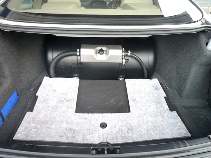 BMW 630 LPG Conversion 2