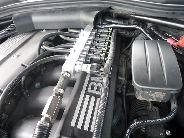 BMW 630 LPG Conversion 6