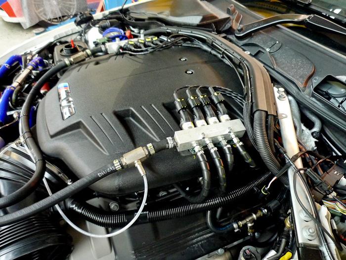 BMW M3 LPG Conversion Engine