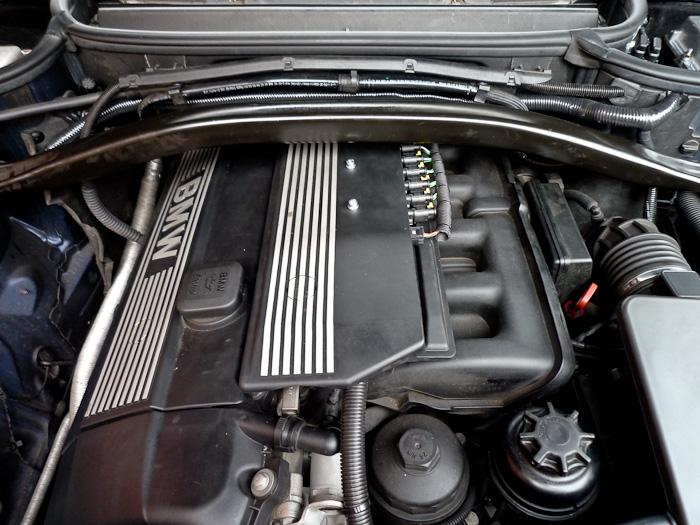 BMW X3 LPG Conversion Engine Bay