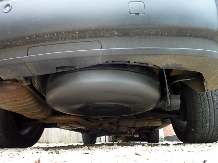 BMW X3 LPG Conversion Tank